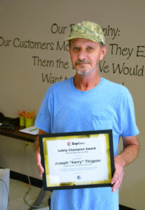 Kerry Thigpen, TempForce Safety Champion!